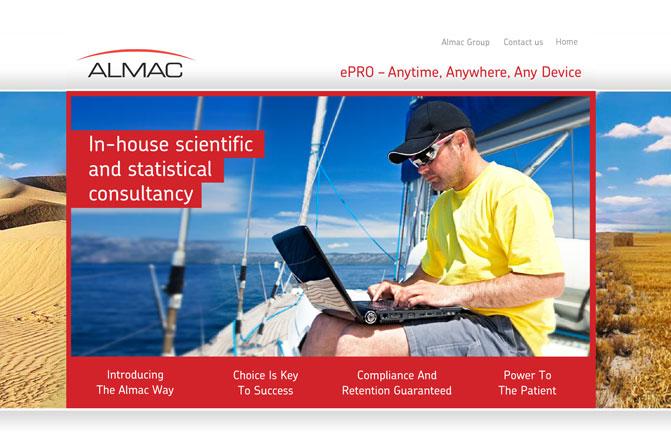 Almac ePRO Microsite and Brochure