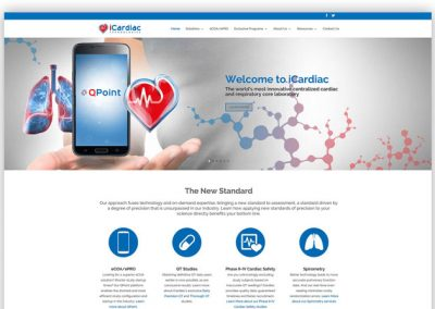 iCardiac Website Design and Build
