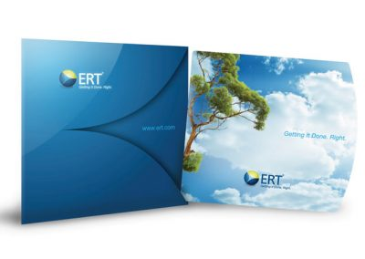 ERT Printed Corporate Brochure and Folder